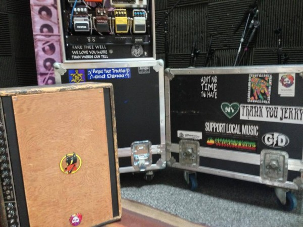 Jerry Garcia guitars speakers and gear